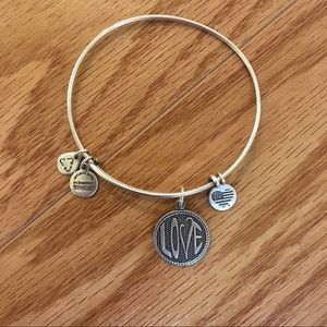 "Alex and Ani ""Love"" Bracelet"